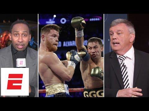 Canelo vs GGG 1 decision infuriates Stephen A. Smith, Teddy Atlas   ESPN Archives