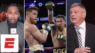 Canelo vs GGG 1 decision infuriates Stephen A. Smith, Teddy Atlas | ESPN Archives