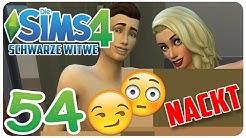 DIE SIMS 4: SCHWARZE WITWE #54 NACKTBILDER VON KATJA & MIR?! :O ☆ Let's Play