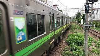 京王1000系 レインボートレイン 東松原発車
