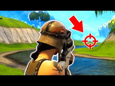 LUCKIEST NOSCOPE HEADSHOT! (Fortnite Battle Royale) Funny Moments