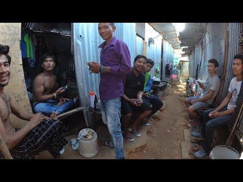 Трущобы в Таиланде