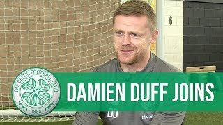 INTERVIEW: Damien Duff talks joining Celtic as a coach