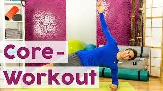 Für eine starke Körpermitte: Core-Workout mit Plank-Special