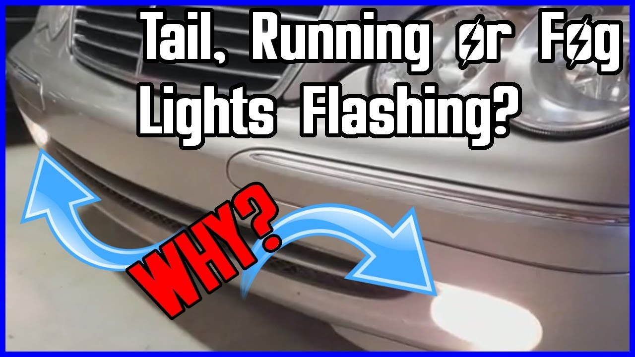 Are Your Tail Running Or Fog Lights Flashing On Mercedes Here Trunk Wire Wiring Harness R230 Sl500 Sl55 2003 03 2004 04 Is How To Fix It Easy