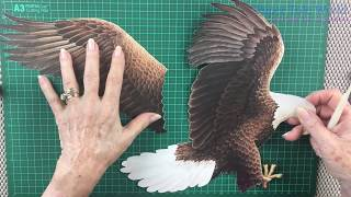 Paper Tole - Introduction to Feathering - Part 3