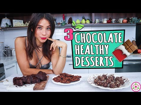 3 CHOCOLATE DESSERTS! – Healthy & Easy 🍫Yovana
