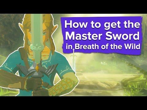 How to Get the Master Sword in Zelda Breath of the Wild