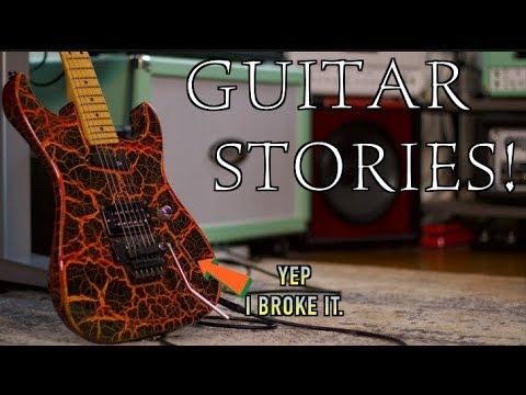 Guitar Stories ( Yep I Broke It)