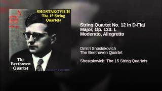 String Quartet No. 12 in D-Flat Major, Op. 133: I. Moderato, Allegretto