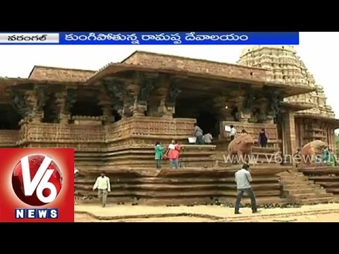 Warangal - Ramappa temple ancient statues are damaged due to ants