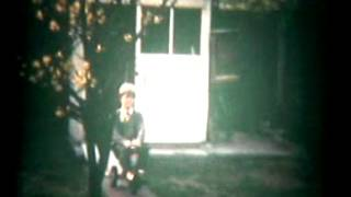 Standard 8 Cine Film 1970 Garden And Animation With Airfix Kits.avi
