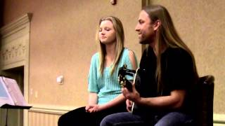 """Lanee And Steve Stine Live - Playing """"Listen To The Music"""" by Doobie Brothers"""