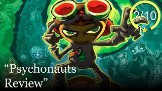 Psychonauts Review [Series X, PS4, Xbox One, PS3, PS2, Xbox, & PC] (Video Game Video Review)