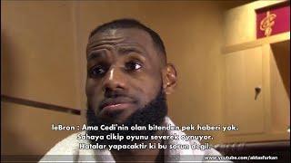 LeBron James ; Cedi Osman'ın olan bitenden haberi yok (Türkçe Altyazı)