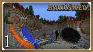 Minecraft Banished Modpack | Banished! | E01 (Harsh Survival Minecraft 1.10.2)
