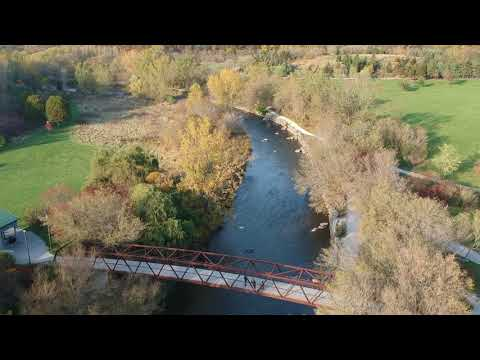 DJI SPARK Extreme Drone view Erindale Park Mississauga