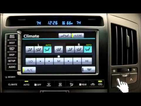 Toyota Land Cruiser Air Conditioner Climate Control Toyota