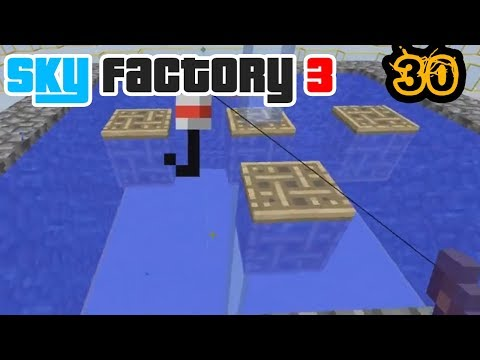 Fishing... Fishing for Our Baby Dragon | Minecraft: New Sky Factory 3 Ep. 30