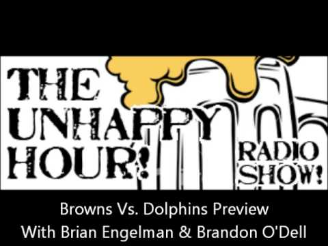 Cleveland Browns Versus Miami Dolphins Preview With Brian Engelman & Brandon O'Dell