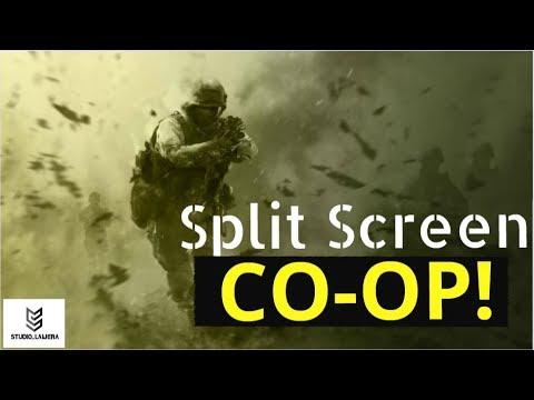 Call Of Duty Modern Warfare Remastered Split Screen Co Op Ps4 Youtube