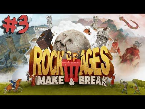 Rock of Ages 3: Make & Break - Walkthrough - Part 3 - Cyclopean Isles Skee Boulder |