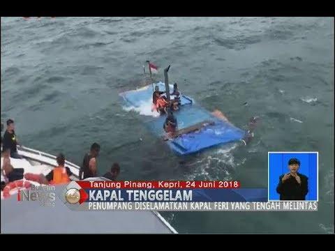 Menegangkan!! Detik-detik Penyelamatan ABK Kapal Kargo yang Tenggelam di Perairan Kepri - BIS 25/06