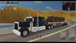 grand truck simulator (peterbilt) accidente
