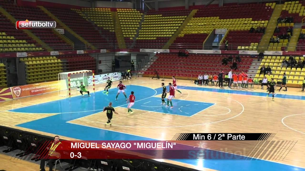 Goles de la selecci n espa ola de f tbol sala ante hungr a for Federacion espanola de futbol sala