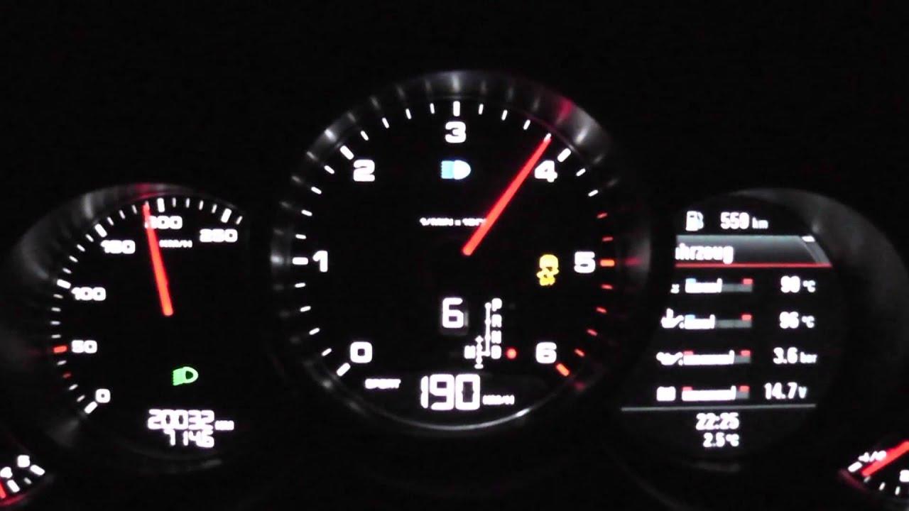 2013 Porsche Cayenne S Diesel 382 Hp 0 100 Km H Amp 0 200 Km