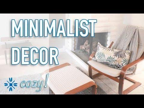 Cozy Minimalist Decor Ideas Minimalist Family Home Decor Youtube