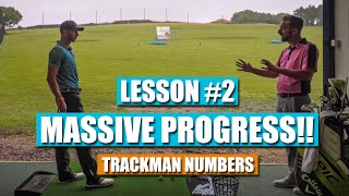 MASSIVE PROGRESS!! ¦ Lesson #2 with RICH WOODS