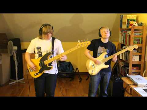 Red Hot Chili Peppers - Mellowship Slinky in B Major (bass + guitar cover) mp3