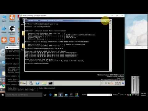 How To Ping local PC & VirtualBox Networking - Ping Test