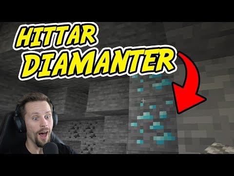 VI HITTAR DIAMANTER DIREKT I MINECRAFT  Hardcore Lets Play 1 med SoftisFFS