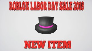 TOP HATS! || ROBLOX LABOR DAY SALE 2018