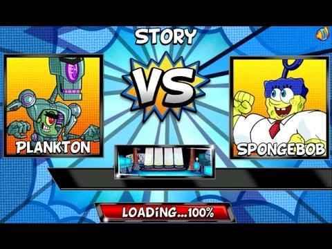 Super Brawl 4 - PLANKTON (Nickelodeon Games)
