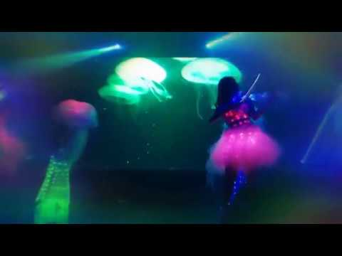 Elements Electric String Trio + JellyFish Dance  ( Led Violinist Malaysia )