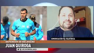Juan Leandro Quiroga en El Show En La Red 03 09 2020