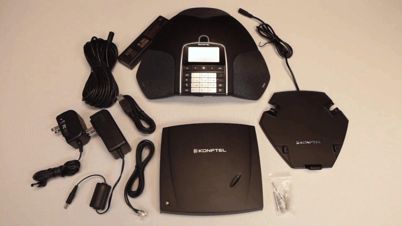 Unboxing The Wireless Speakerphone Konftel 300Wx