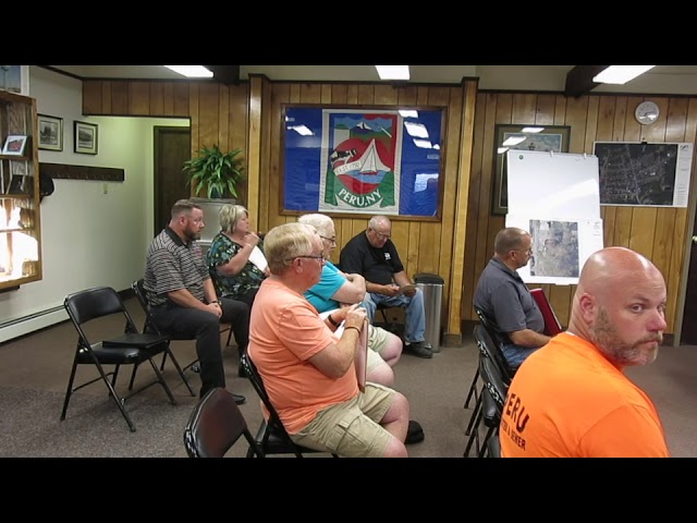 Peru Town Board Meeting  7-8-19