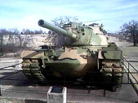 M47 & M48 Patton, MBT. パットン主力戦車@オクラホマ