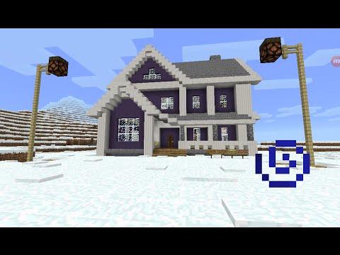 Minecraft 1 4 2 disenos de casa modernas doovi for Casa moderna para minecraft pe 0 14 0