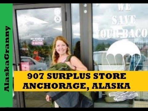 Surplus Store Tour 907 Surplus Store Anchorage, Alaska