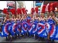 Best of France in Times Square filmed on Saturday September 26, 2015