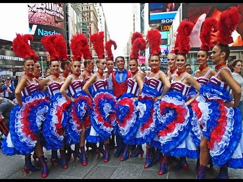 Best of France in Times Square filmed on Saturday September 26, 2015