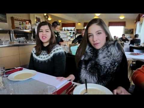 หนีเที่ยว 10 มี ค 60  Tryggvaskali Restaurant ,Aurora , Hali Restaurant : Iceland