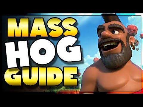 NEW Town Hall 8 Mass Hog GUIDE | 2018 | Clash of Clans