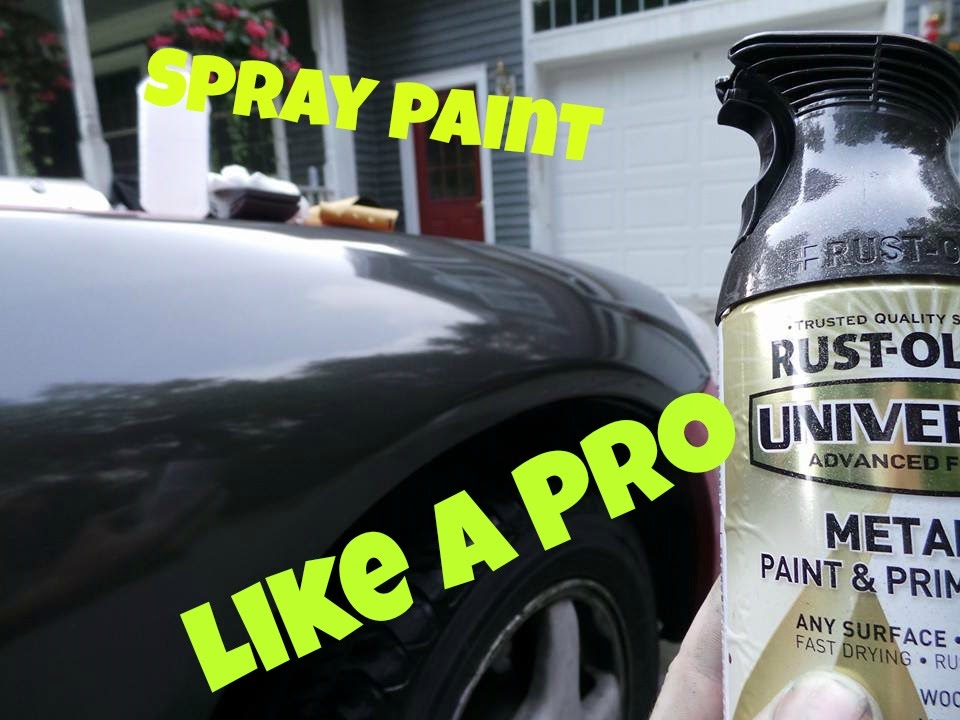 spray paint like a pro at home youtube. Black Bedroom Furniture Sets. Home Design Ideas