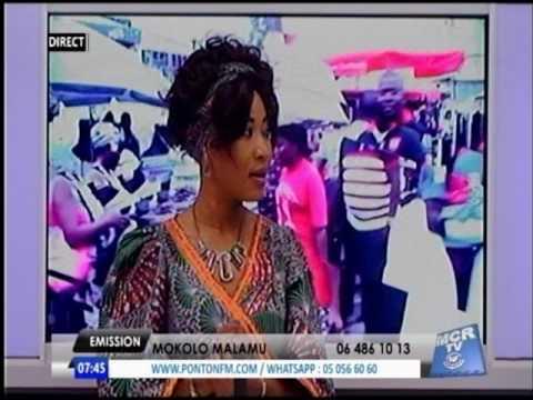 EMISSION MOKOLO MALAMU DU 11 MAI 2017, POINTE-NOIRE AU CONGO-BRAZZAVILLE